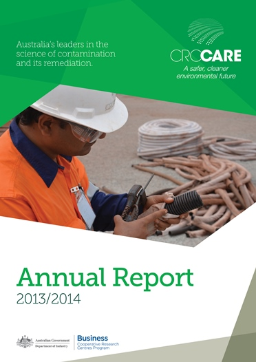 CRC CARE Annual Report 2013-2014 cover
