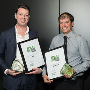 CARE Award 2019 winners with trophies